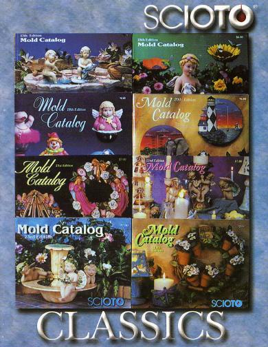 Ceramics Books and Mold Catalogs