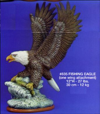 ~Mikes Ceramic Bisque Wild Wings Eagle Ready to Paint~